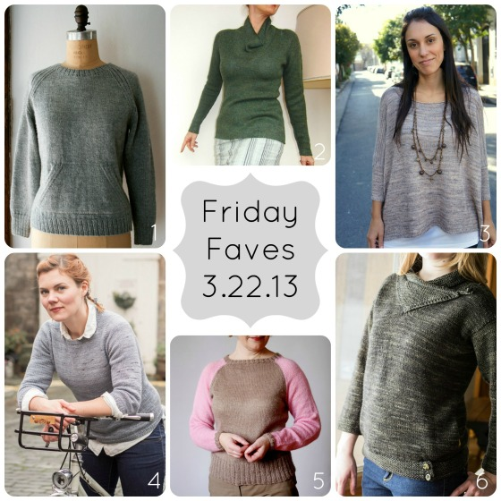 Friday Faves 3.22.13